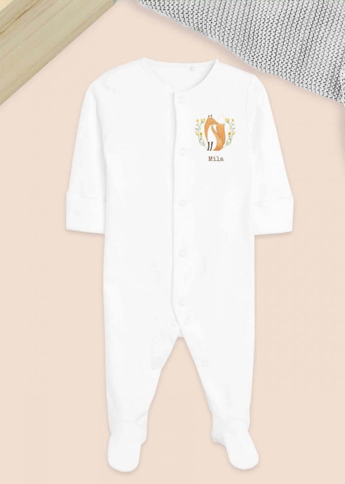 Babypyjama met naam